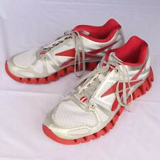 Red Reebok Zig Plus 3 Sneakers Shoes Size Men 10 Model J83178