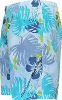 New Mens Boys Summer Floral Print Beach Shorts Surf Board Swim Shorts M - XXL