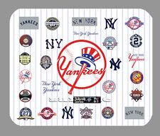 Item#342 New York Yankees Logo Art Mouse Pad