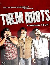 Them Idiots Whirled Tour, DVD New! Jeff Foxworthy, Larry cable guy,Bill Engvall