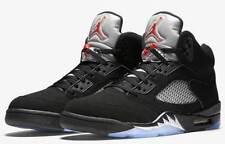 Brand-New-Mens-Air-Jordan-5-Retro-OG-845035-003-Black-Fire-Red-Size-14
