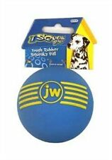 JW Pet iSqueak Squeaky Durable Rubber Ball Dog Chew Toy 3 Medium