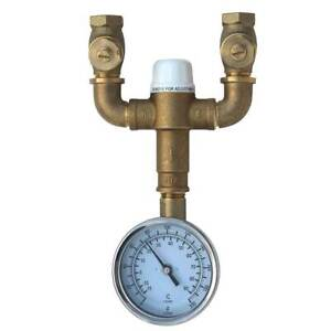 Speakman STW-370 Safe-T-Zone Thermostatic Mixing Valve - 9.7 Gpm Flow Capacity