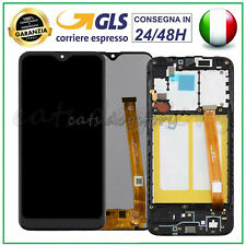 DISPLAY LCD PER SAMSUNG GALAXY A20E SM-A202 SM-A202F TOUCH SCREEN SCHERMO NERO
