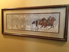 """""""Sacred Ground"""" by Bev Doolittle 1970 to 1989"""