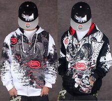 Men's Ecko Unltd Zipper Hoodie Warm Sweater Cotton Flocking printing Sweatshirt