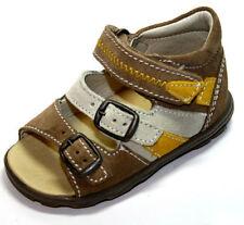 Scarpe Sandali in pelle beige per bambini dai 2 ai 16 anni