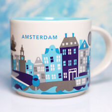 + STARBUCKS City Mug + AMSTERDAM I V1 2013 + NEU + SKU + YOU ARE HERE YAH Tasse