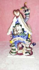 Blue Sky Clay works Santas Workshop Cl20016 2002 By Heather Goldminc Retired