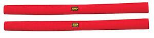 OMP Velour Polster, 1 m, rot, Polstermaterial Überrollkäfig, raceparts cc