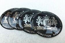 4pcs JP Junction Produce Car Wheel Center Hub Caps EmblemS Decal Sticker 56mm