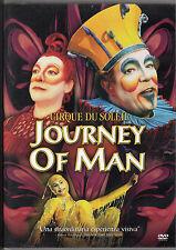 Dvd Cirque du Soleil 'Journey of Man' edizione italiana nuovo