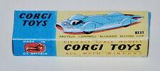 """Reprobox Corgi Toys Nr. 153 - Proteus-Campbell-""""Bluebird"""" Record Car"""