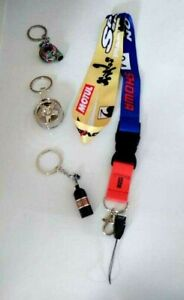 Key Chain Fit Wheel Rim Metal + KEYCHAIN NOS+ Keychain TURBO MET+ LANDYARD