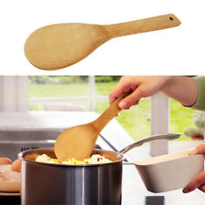 1PCS Kitchen Bamboo Spoon Spatula Wooden Utensils Cooking Spoon Tools Shovel