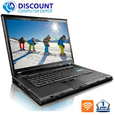 "Lenovo ThinkPad T510 15.6"" Laptop Computer Core i5 4GB 320GB HD Wifi Windows 10"