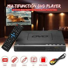 USB Portable Multiple Playback DVD Player HomeTheatre System With Remote Control