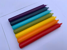 Pack of 7 colours of the rainbow candles