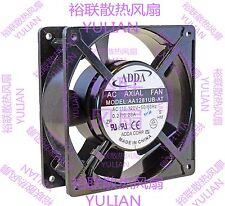 1 PCS ADDA Fan AA1281UB-AT  AC 110V-120V  0.27/0.23A 120*120*38mm