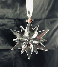 2017 Swarovski Crystal Snowflake Annual Christmas Tree Ornament