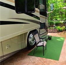4'x6' Outdoor Indoor Grass Turf Carpet Rug Runner Golf Sports Dog Camper RV Mat