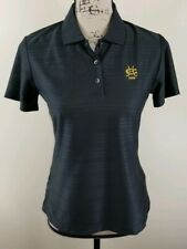 ADIDAS Golf Polo Shirt, Womens Size Small, Black, Short Sleeves, Climacool, NEW