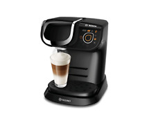 TASSIMO MY WAY Coffee Machine- Black with Free Cups,Pods,Descaling Tablets Boxed