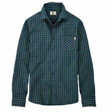 Karierte Herren-Freizeithemden & -Shirts Hemd-Stil in Grün