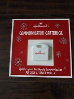 New 2019 Hallmark North Pole Communicator Refill Cartridge Christmas Ships Today