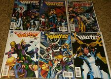 Justice League United #0 #1 #2 #3 #4 #5 NM Bag and Board