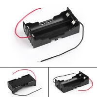 1Pcs 2 Cell 18650 Parallel Battery Holder Case For 3.7V Battery With Leads UE