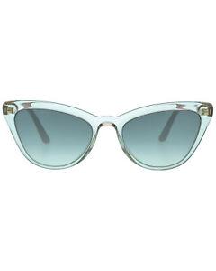 Prada Grey And Pink Women's Acetate Sunglasses PR01VS-326130 MSRP $362