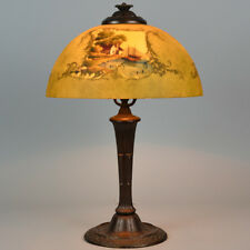 Jefferson 4 Sided, Reverse Painted Lamp