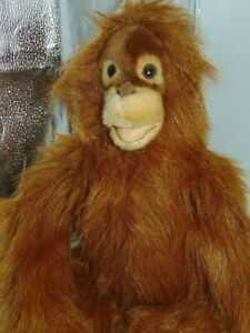 "Hansa Orangutan Kid 13"" Plush - Portraits of Nature Collection NEW"