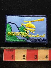 Helicopter Patch HELICOPTERS INTERNATIONAL 75WB
