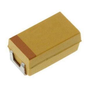 10 X SMD Tantal Kondensator AVX TPSD107K016R0150  100 uF 16V 150mOhm 10% Case F