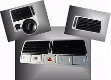 VW GOLF 4 IV,Set alu  Bocchette d'aria , Air vents