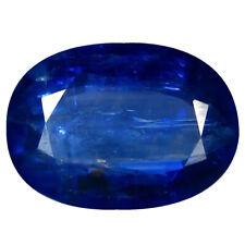 3.78 ct AAA Premium Oval Shape (12 x 8 mm) Blue Kyanite Natural Gemstone