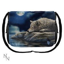 Nemesis Now Wolves Messenger Bag Quiet Reflection - Lisa Parker