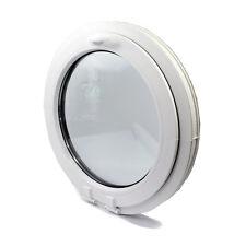 Fenêtre à soufflet  ronde, oeil de boeuf, de haute qualité PVC NEUF VEKA Ø 750mm
