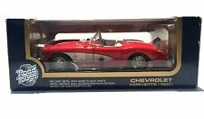 ROAD TOUGH 1957 CHEVROLET CORVETTE  1:18 SCALE