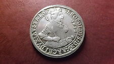 1632 Austrian Large  Silver Taler Leopold  Archduke of Austria Tyrol, Hall mint