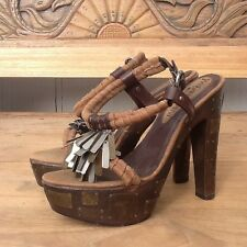 AUTHENTIC YVES SAINT LAURENT RUNWAY Limited Edition Heel  ITALY 38 US 7.5-8
