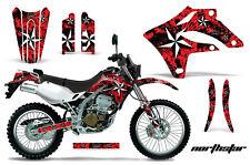 KAWASAKI KLX 250 Graphic Kit AMR Racing Decal Sticker Part KLX250 04-07 N.STAR R