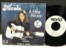 NICOLE A little peace EUROVISION 1982 507107 Pressage Portugal