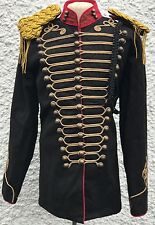 "SDL Steampunk Men's Military Style BlK/Jacket Wth Gold Chest Size 44""Inc"