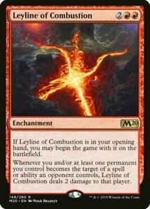 Leyline of Combustion NM, 148/280 M20, Rare, Magic The Gathering, MTG