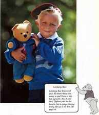 TEDDY BEAR Patterns THE BEAR BOOK How to Make BEARS & FRIENDS