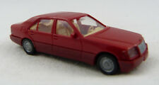 Mercedes 500 SEL rot Wiking 1:87 H0 ohne OVP [SP9]