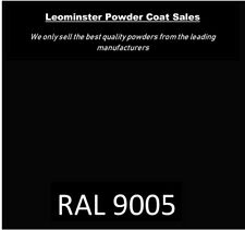 Powder coating powder  satin black 1kg bag awesome!